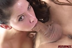 asshole,blowjob,boobs,brunette,closeup,cock,cowgirl,cuckold,cumshot,facial,fingering,husband,lick,milf,money,pussy,vagina,wife,