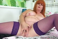 asshole,boobs,british,closeup,cougar,dildo,female,fun,mature,milf,mom,older,red,redhead,stockings,striptease,woman,women,
