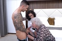 3some,asshole,best,blowjob,boobs,closeup,granny,hairy,hottest,lick,mature,milf,old,older,pussy,stockings,threesome,vagina,young,